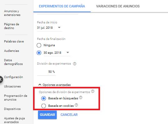 experime-google-ads
